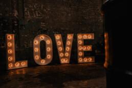Lichtletters love te zien