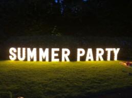 Lichtletters summer party